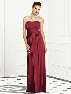 After Six Bridesmaids Style 6663, by Dessy, claret, $210 on shopjoielle.com