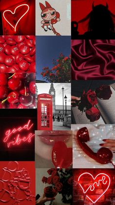 red aesthetic | collage