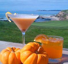 Everything Coastal....: Pumpkin Martinis Ritz Carlton recipe...Half Moon Bay, Ca.