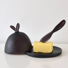 butter dish- Tina Frey