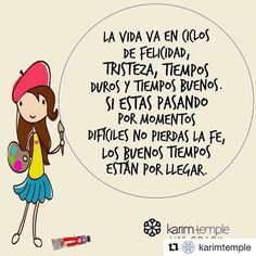 #Repost @karimtemple with @repostapp La vida se vive en ciclos según las…