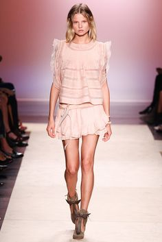Isabel Marant - Spring/Summer 2014 Paris Fashion Week