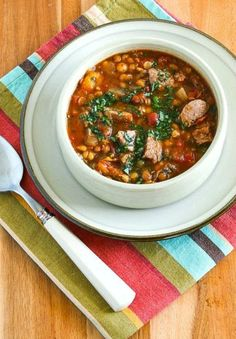This is one of my favorite soups with Roasted Italian Sausage, Garbanzos, Lentils, and Tomatoes! And this tasty soup is low-glycemic, dairy-free, gluten-free, and South Beach Diet friendly. Use the Recipes-by-Diet-Type Index to find more recipes like this one. Click here to PIN Roasted Italian Sausage Soup with Garbanzos, Lentils, and Tomatoes. I have so many good …