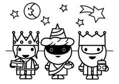 dibujos de reyes para colorear - Buscar con Google