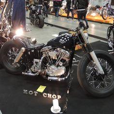 Harley Bobber at Yokohama HotRod Custom Show 2013