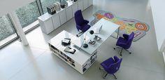 Johtajan työpöytä Planeta, valmistanut DVO: design Antonio Morello