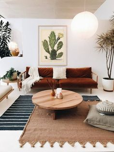 DIY Home Decor Projects To Give Any Room a Makeover – Cactus digital poster, Cactus digital print, vintage illustration, printable digital image, succulen Retro Home Decor, Home Living Room, Interior, Home Decor Trends, Home Decor, Room Inspiration, House Interior, Trending Decor, Living Decor