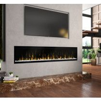 dimplex ignitexl 74 in elektrokamin built in electric fireplace 7 - The world's most private search engine Tv Above Fireplace, Linear Fireplace, Home Fireplace, Fireplace Inserts, Living Room With Fireplace, Fireplace Design, Wall Mounted Fireplace, Fireplace Ideas, Fireplaces With Tv Above