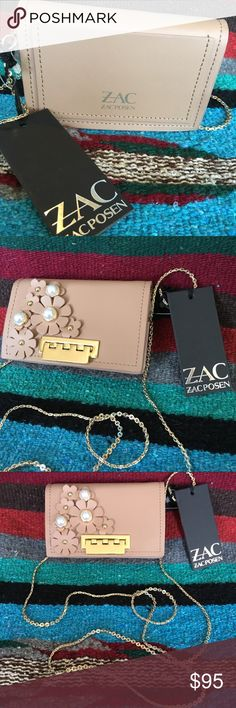 9a91d799f14 Zac Posen mini bag Eartha Card Case in English Rose Zac Posen Bags Baby Bags  Zac
