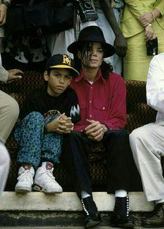Michael Jackson and Omer Bhatti 1992