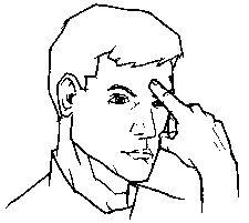 """think"" American Sign Language (ASL)"