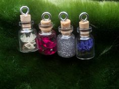 10  Small Vials custom ideal for wedding favor by CostureroReal, €30.00