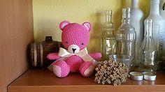 Hračky - Ružový macko - 6220008_