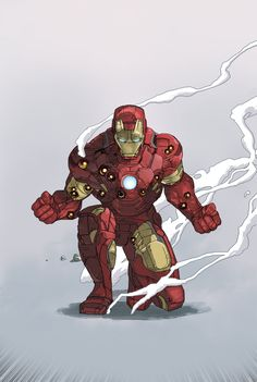 Iron-Man Mark lV - Dave Seguin