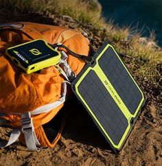 Goal Zero Nomad 7 Plus Solar Panel -- The Nomad 7 Plus is lighter & smarter than its predecessors. With a built-in kickstand for getting the optimal charging angle, this 7W modular panel features a new automatic re-start function that monitors the re-charging & resets itself if lack of sunlight or shadows cause it to disconnect. $100