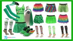 7e6b47173a016 Sparkle Athletic St. Patrick s Day Running Gear