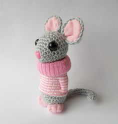 Little rat crochet amigurumi