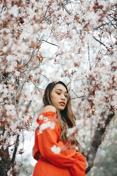 Thanks to Henri Pham for making this photo available freely on 🎁 Tree Photography, Portrait Photography, Lela Rose, Ethnic Hairstyles, Ethical Fashion Brands, Blossom Trees, Cherry Blossoms, Spring Blossom, Slow Fashion