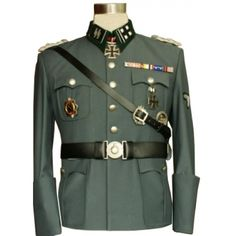 tony-this is a world war 2 german officer uniform.nazis wore this uniform to…