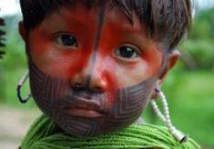 brazilian indian pintura corporal indigena - Google Search