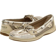 Sperry Top-Sider - Angelfish.  Yes, I know these are everywhere, but they make me feel ready for a day on the water.
