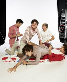 I would love to play twister with them