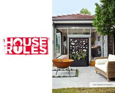Feature screens featured on House Rules by QAQ Architectural http://www.spec-net.com.au/press/0914/qaq_030914.htm #houserules #featurewall