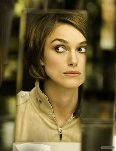 Keira Knightley Chanel advert. #girl crush