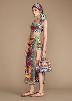 Dolce & Gabbana Women's Carretto Siciliano Collection Summer 2016   Dolce & Gabbana