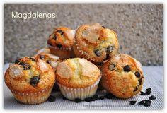 Magdalenas, riquísimas | Cocina con gusto