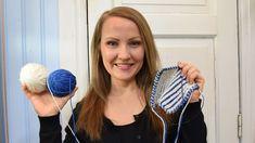 7 ohjevideota patenttineuleesta, niin kutsutusta briossista. Knitting Stitches, Knitting Patterns, Drops Design, Opi, Knit Crochet, Projects To Try, Beanie, Hair Styles, Crafts