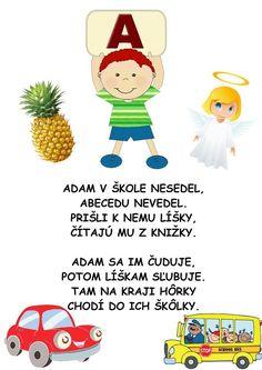 Alphabet, Kindergarten, Teacher, Montessori, Education, Kultura, School, Fictional Characters, Hacks