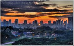 Sunrise at Singapore #photography #singapore