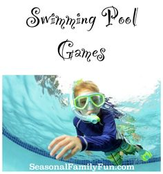 Swimming Pool Games