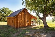 Horse Barn - Small in Size, Large in Character - farmhouse - garage and shed - other metro - by Sand Creek Post & Beam