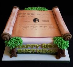 Family Tree Birthday Cake  Cake by WeRCakes