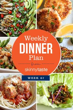 Skinnytaste Weekly Dinner Plan (Week Skinnytaste Weekly Dinner Plan (Week More from my siteWeekly Dinner Meal Planner Weekly Dinner Meal Planner meal planner Skinnytaste Recipes, Diet Recipes, Healthy Recipes, Healthy Meals, Recipies, Clean Eating, Healthy Eating, Dinner This Week, Cooking Tips
