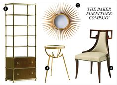 Heritage Furniture by Baker    Rue