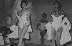 Thierry Mugler show swimwear