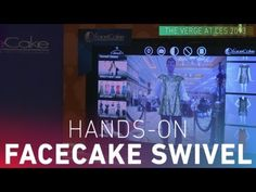 Dante D'Ozario goes hands-on with the FaceCake Swivel.