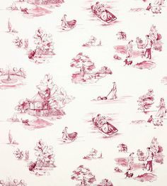 Promenade Fabric by Nina Campbell | Jane Clayton