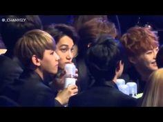 140212 Gaon Chart BTS (EXO Reaction)