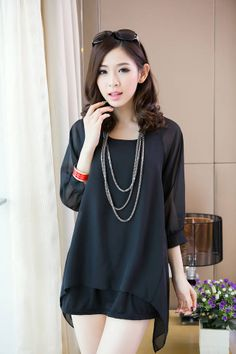 79c2257ae446 115 Best Korean Fashion Blouse images in 2013 | Blouse styles ...
