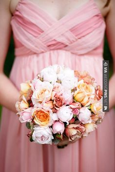 Awesome - Beautiful bouquet | Photo by Borrowed and Blue Productions | CHECK OUT MORE GREAT PINK WEDDING IDEAS AT WEDDINGPINS.NET | #weddings #wedding #pink #pinkwedding #thecolorpink #events #forweddings #ilovepink #purple #fire #bright #hot #love #romance #valentines #pinky