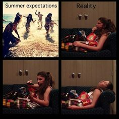 Jamie's world. Summer expectation.
