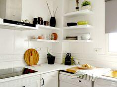 Reforma de mi cocina sin obras. Antes y después de mi cocina. Muebles pintados, mármol pintado. Pintura de pizarra en lavadora.