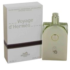 Hermes Voyage DHermes Men's 3.3-ounce Eau de Toilette Spray (Refillable), Red ginger, Size 3.1 - 4 Oz.