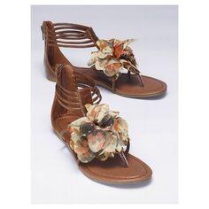 Victoria's Secret Floral Sandal