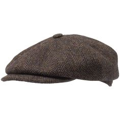Harris Tweed Hatteras Cap