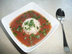 Pomidorowa z ryżem